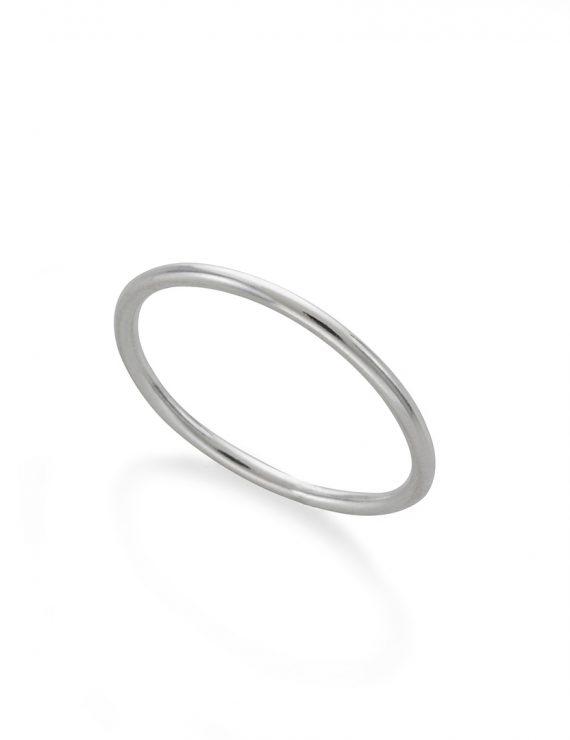 basic ring silver