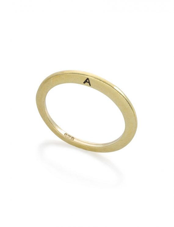 secret ring gold A