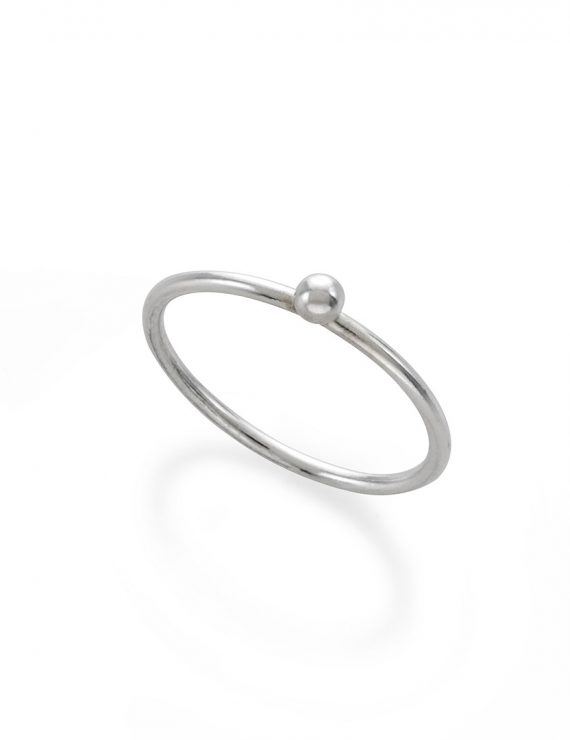 sphere1 ring silver