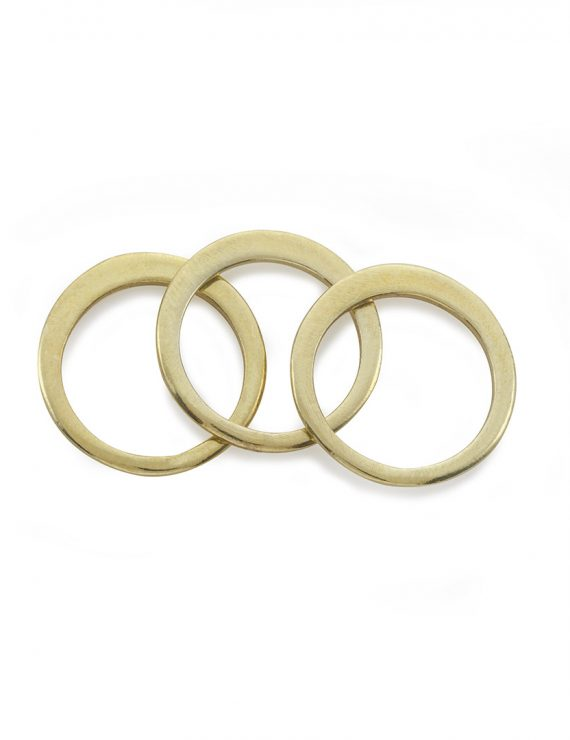 triple secret ring gold blank