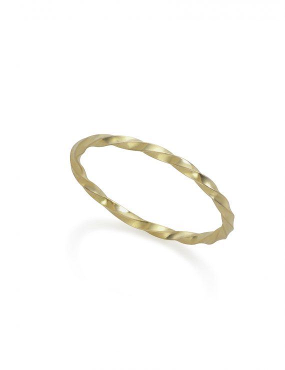 wraped ring gold