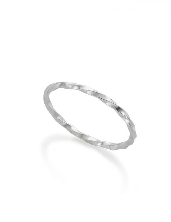 wraped ring silver
