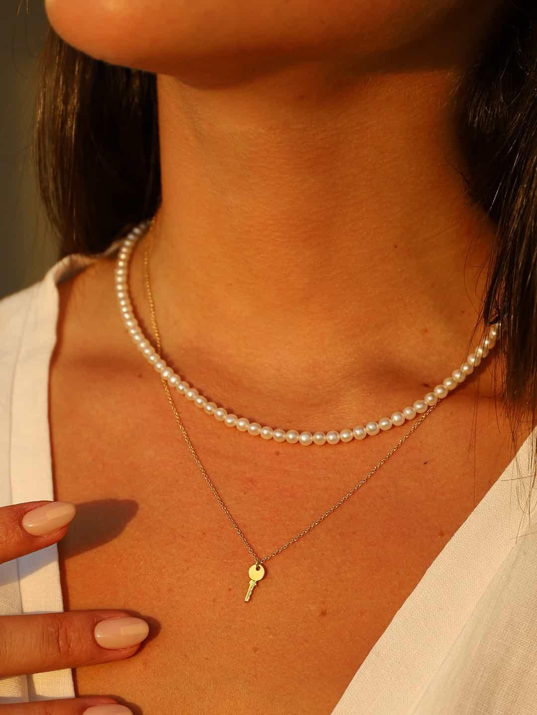 key neck 9+pearl