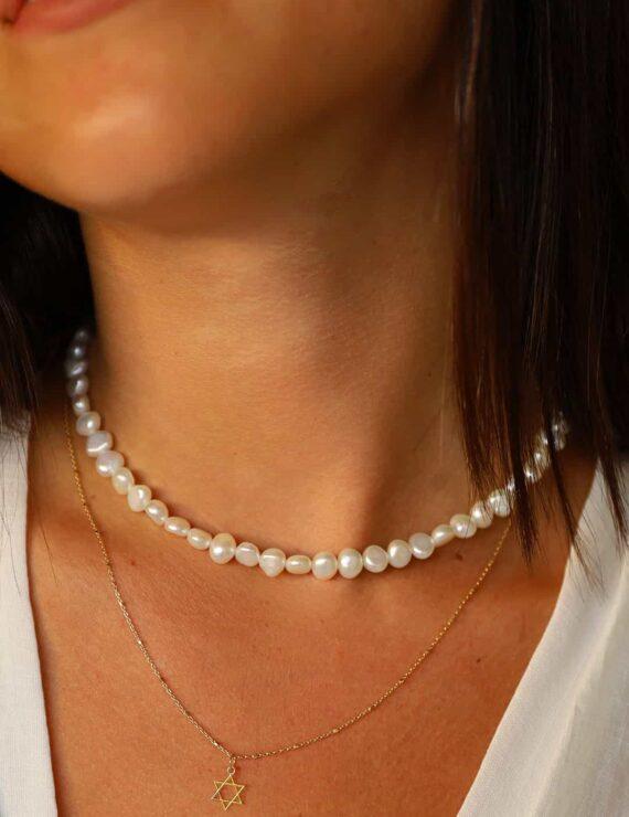 magen neck 8+pearl medum