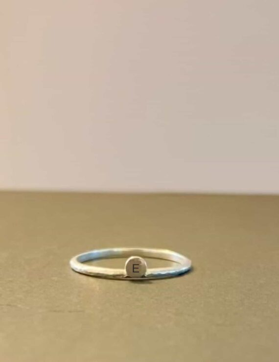 one love ring silver